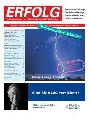 Erfolg_Ausgabe Nr. 6 - Juli 2011