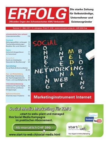 Erfolg_Ausgabe Nr. 2 - März 2011