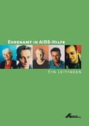 Ehrenamt in Aidshilfe - Deutsche Aids-Hilfe e.V.