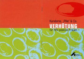"Kondome, ""Pille"" & Co. - Deutsche AIDS-Hilfe e.V."