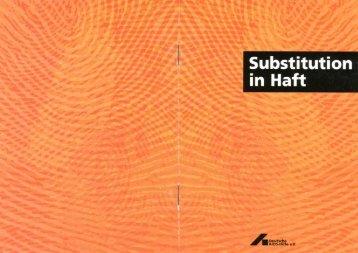 Substitution in Haft 1999 - Deutsche AIDS-Hilfe e.V.