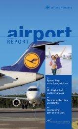 airportReport 1/2013 - Flughafen Nürnberg