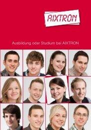 Ausbildung oder Studium bei AIXTRON
