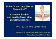 Vortrag Frau PD Dr Sinzig
