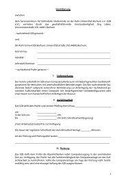 Vereinbarungsdokument für Dozenten ... - AKAFÖ Bochum
