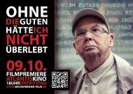 09.10. FILMPREMIERE AtLAntIsKInO - AK JUSTIZ/Mannheim