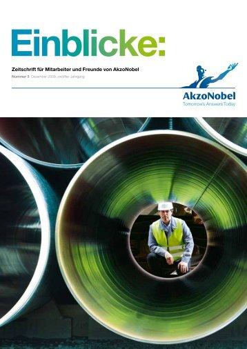 Zeitschrift für Mitarbeiter und Freunde von AkzoNobel