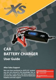 CAR BATTERY CHARGER - ALDI UK: Warranty Search
