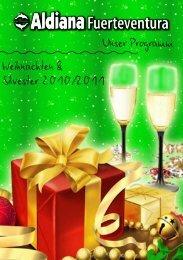 Unser Programm Weihnachten & Silvester 2010/2011 - Aldiana