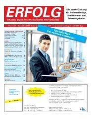 Erfolg_Ausgabe Nr. 8 - September 2011