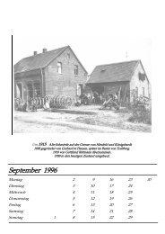 September - Pioniere Königshardt - Alfred-Ulrich-Lindemann