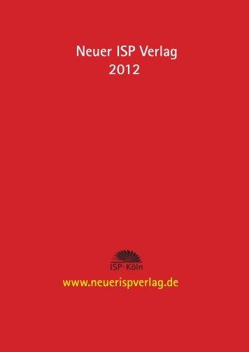 Neuer ISP Verlag 2012
