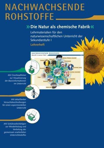Nachwachsende Rohstoffe - Lehrmaterialien für den ...