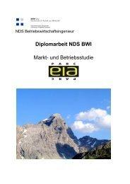 Diplomarbeit NDS BWI Markt- und Betriebsstudie