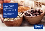 Allianz PIMCO Laufzeitfonds Währungen 2016 - Allianz Global ...