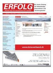 Erfolg_Ausgabe Nr. 1 - Januar 2010