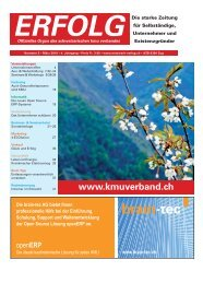 Erfolg_Ausgabe Nr. 2 - März 2010