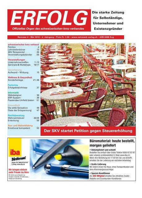 Erfolg_Ausgabe Nr. 4 - Mai 2010
