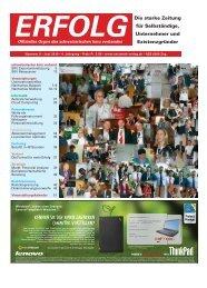 Erfolg_Ausgabe Nr. 5 - Juni 2010