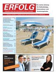 Erfolg_Ausgabe Nr. 6 - Juli 2010