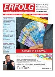 Erfolg_Ausgabe Nr. 10 - November 2010