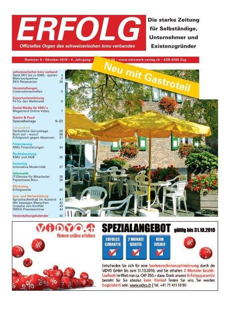 Erfolg_Ausgabe Nr. 9 - Oktober 2010