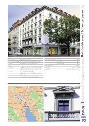 Zürich, Bahnhofstrasse/Schweizergasse Umnutzung eines ...