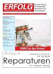 Erfolg_Ausgabe Nr. 1 - Januar/Februar 2009