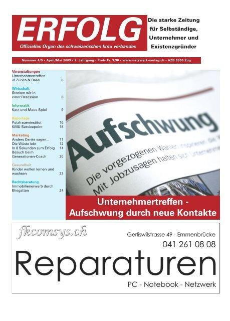 Erfolg_Ausgabe Nr. 4/5 - April/Mai 2009