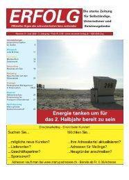 Erfolg_Ausgabe Nr. 6 - Juni 2009