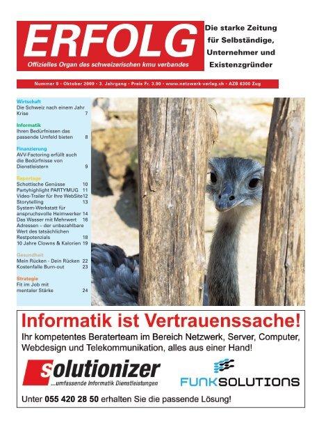 Erfolg_Ausgabe Nr. 9 - OKtober 2009