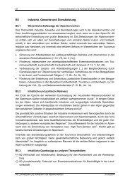 B5 Industrie, Gewerbe und Dienstleistung
