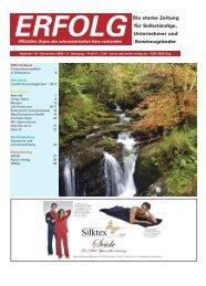 Erfolg_Ausgabe Nr. 10 - November 2009