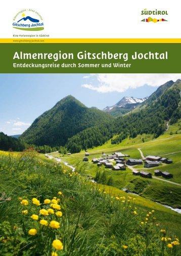 Almenregion Gitschber Jochtal - Pension Rosenhof