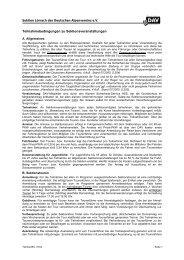 Teilnahmebedingungen zu Sektionsveranstaltungen - DAV Sektion ...