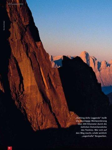 Trekking delle Leggende - Deutscher Alpenverein