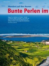 Wandern auf den Azoren Bunte Perlen im Atlantik