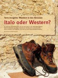 Italo oder Western? - Deutscher Alpenverein