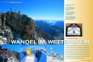 wandel im wetterstein wandel im wetterstein - Deutscher Alpenverein