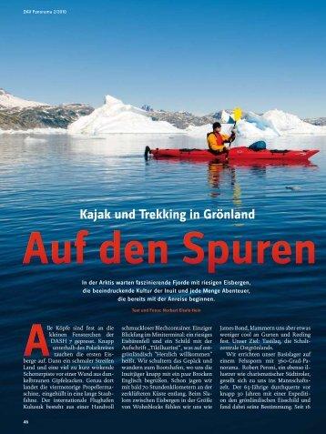 Kajak und Trekking in Grönland - Deutscher Alpenverein