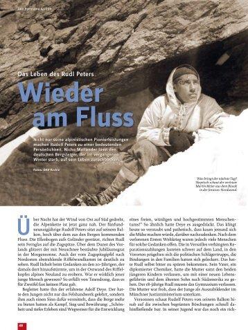 Das Leben des Rudl Peters - Deutscher Alpenverein