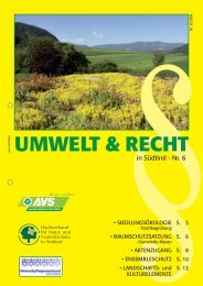 UMWELT & RECHT - Dachverband für Natur