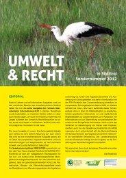 in Südtirol Sondernummer 2012 - Dachverband für Natur