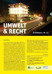 in Südtirol – Nr. 12 - Dachverband für Natur
