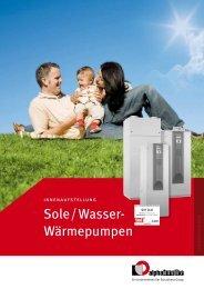 Sole/Wasser- Wärmepumpen - Alpha-InnoTec GmbH