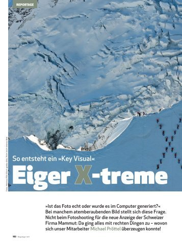 Eiger Keyvisual Shooting - alpinjournal