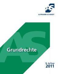 Grundrechte 2011 - Alpmann Schmidt