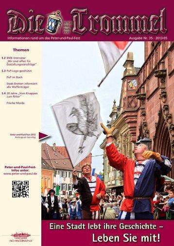 Die-Trommel#35 1305 27.05.2013 - Vereinigung Alt-Brettheim