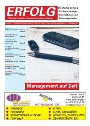 Erfolg_Ausgabe Nr. 9 - November/Dezember 2008