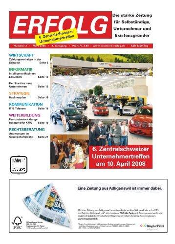 Erfolg_Ausgabe Nr. 3 - März 2008